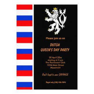 Dutch Queen s day Koninginnedag Invitation