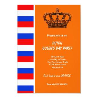 Dutch Queen's day (Koninginnedag) Card