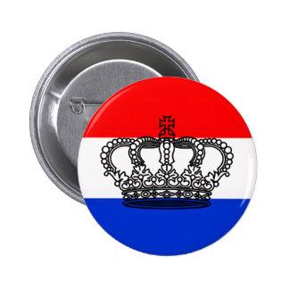 Dutch Queen's Day (Koninginnedag) Pinback Button
