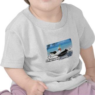 Dutch rabbit in happy place t-shirt