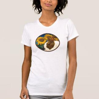 Dutch rabbit in Sunflowers shirt