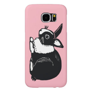 Dutch Rabbit Pink Samsung Galaxy S6 Case Samsung Galaxy S6 Cases