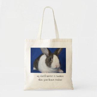 Dutch Rabbit Tote Tote Bag