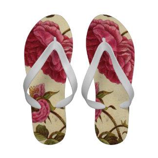 Dutch Rose Flip Flops