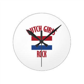 DUTCH ROUND CLOCK