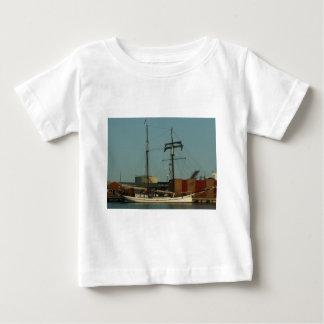 Dutch Schooner In Danish Harbor Baby T-Shirt