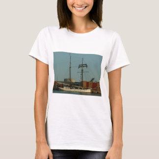 Dutch Schooner In Danish Harbor T-Shirt