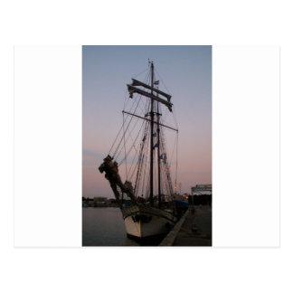 Dutch Schooner Postcard