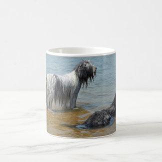 Dutch sheepdog Schapendoes photo mug