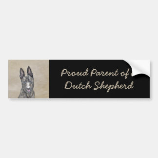 Dutch Shepherd Bumper Sticker