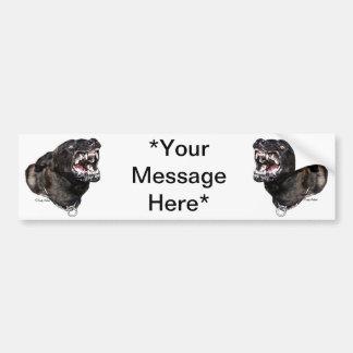 Dutch Shepherd Police Dog bumpersticker Bumper Sticker