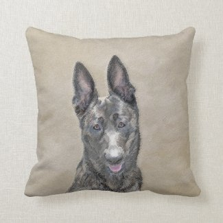 Dutch Shepherd Throw Pillow