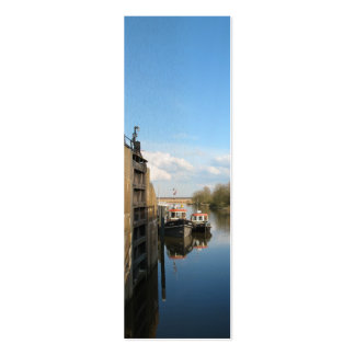 Dutch Sluice Photo Holland Bookmark Gift Double-Sided Mini Business Cards (Pack Of 20)