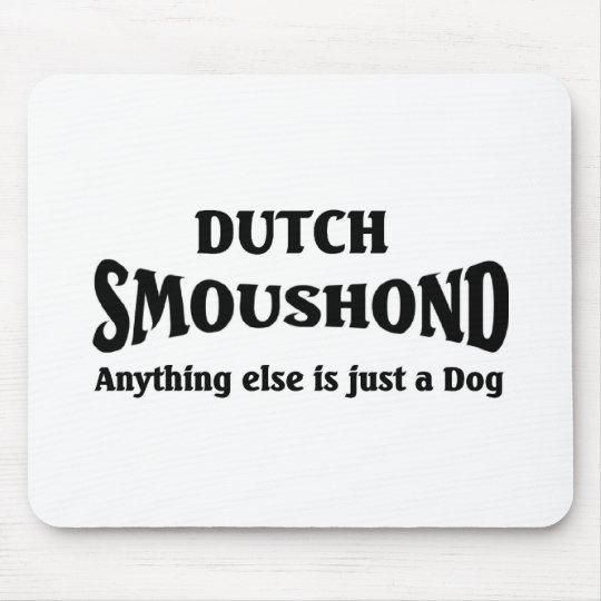 Dutch Smoushond Dog Mouse Pad