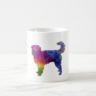 Dutch Smoushond in watercolor Coffee Mug