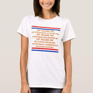 Dutch Soccer Chant Hup Holland Hup T-Shirt