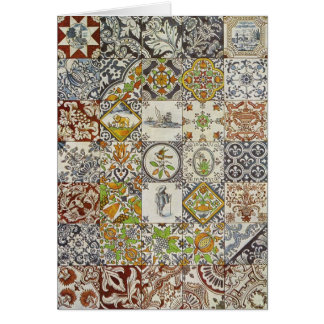 Dutch Tiles Stationery Note Card