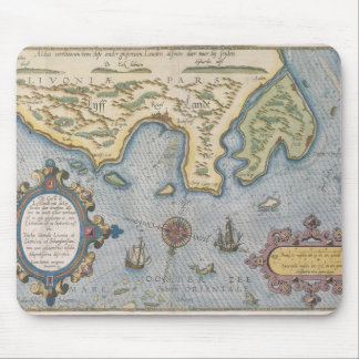 Dutch Trade map of the Baltic Sea Mouse Pad