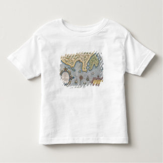 Dutch Trade map of the Baltic Sea Toddler T-shirt
