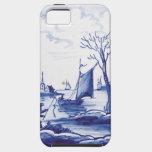 Delft Blue Dutch Style iPhone 5 Case