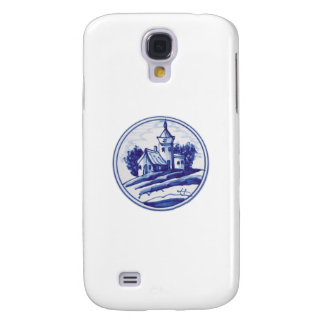 Dutch traditional blue tile samsung galaxy s4 covers