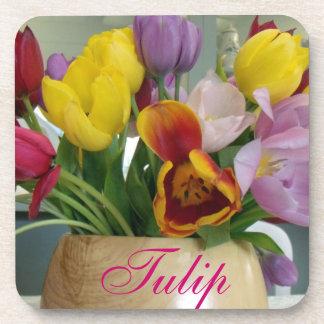 Dutch Tulips Bouquet Coaster