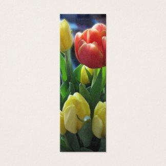 Dutch Tulips Holland Bookmark Photo Art Mini Business Card