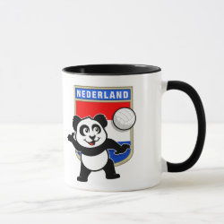 Combo Mug with Dutch Volleyball Panda design