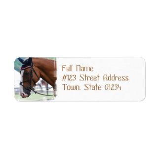 Dutch Warmblood Horse Mailing Labels
