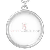 Dutch Warmblood Silver Plated Necklace
