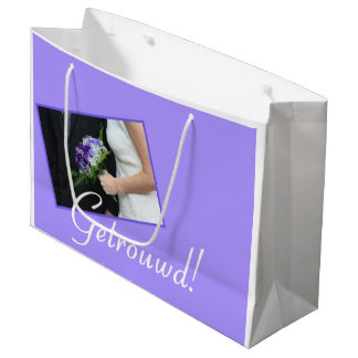Dutch Wedding congrats gift bag
