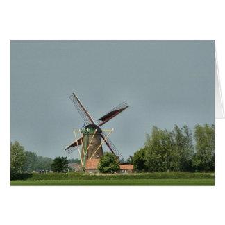 Dutch Windmill #1 Card