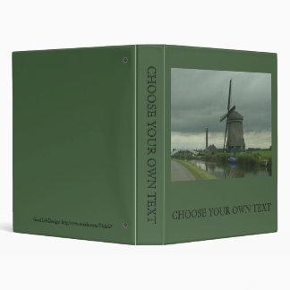 Dutch Windmill #3 Binder