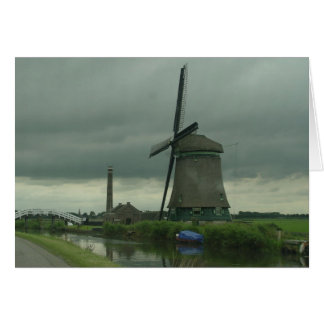 Dutch Windmill #3 Card