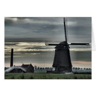 Dutch Windmill #4 Card