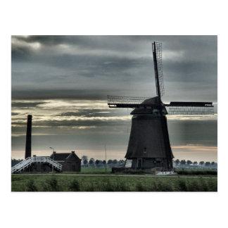 Dutch Windmill #4 Postcard