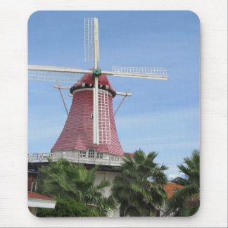 Dutch Windmill Aruba Mouse Pad
