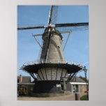 "Dutch Windmill ""De Pere"" Oost-Souburg Photo Poster"