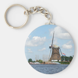 Dutch Windmill Keychain