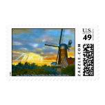 Dutch Windmill Stamps
