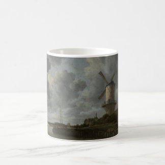 Dutch windmill Wijk bij Duustede, Ruisdael Coffee Mug
