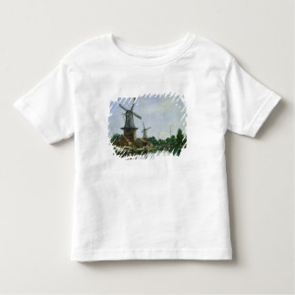 Dutch Windmills, 1884 Toddler T-shirt