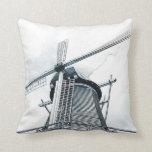 Dutch windmills pillow