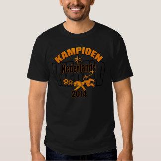 Dutch world champion 2014 lion football tee shirt