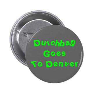 Dutchbag Goes To Denver 2 Inch Round Button