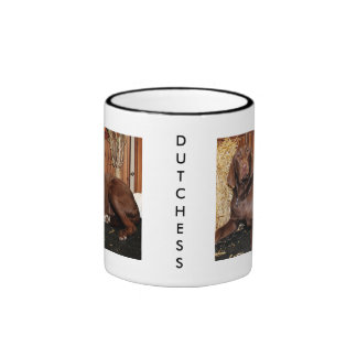 Dutchess - chocolate Labrador - Photo-13 Taza De Dos Colores