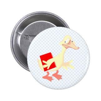 Dutchie Duck Pinback Buttons