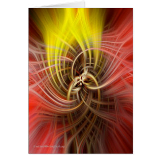 Dutchman's Pipe SpinArt Card