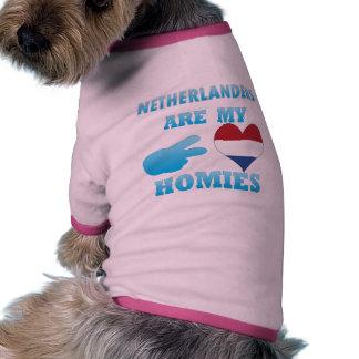 Dutchs are my Homies Dog Tee Shirt