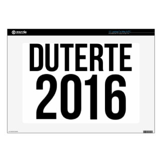 Duterte 2016 laptop decal